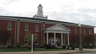Mississippi County, Missouri - Image: Mississippi County Courthouse, Charleston
