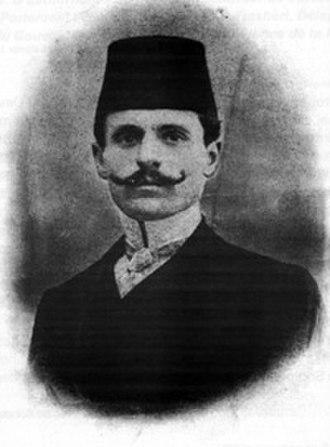 Midhat Frashëri - Young Mid'hat Frashëri.