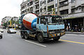 Mitsubishi Fuso The Great Cement Mixer Truck at Section 4, Bade Road, Taipei 20150627.jpg