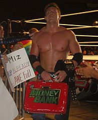 The Miz jako United States Champion i zdobywca walizki Money in the Bank w lipcu 2010