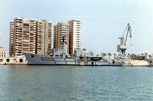 Italian ship Anteo (A5309) - Anteo at Malaga