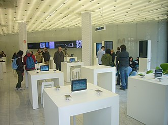 Movistar - Movistar stand at the Mobile World Congress.