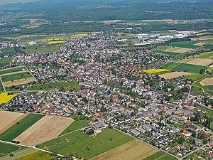 Möhlin - Aerial view