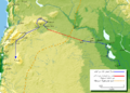 Mohammad adil-Khalid's(r.a) route to Syria-ar.png