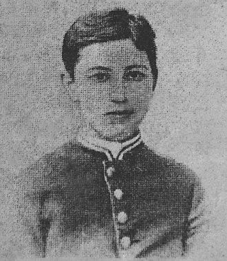 Moisei Uritsky - Moisei Uritsky student at Bila Tserkva gymnasium circa 1883