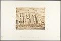 Moitié de la façade du Spéos d'Athor, à Abousembil (partie Septentrionale) MET DP131956.jpg