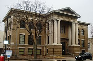 Moline Downtown Commercial Historic District - Moline Carnegie Library