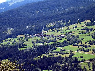 Albula/Alvra - Mon village from the air