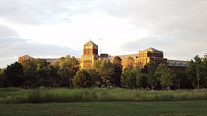 Sisters, Servants of the Immaculate Heart of Mary - The main campus seen from West Elm Street in Monroe