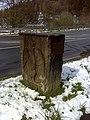 Monschau, Schlussstein der Bogenbrücke.jpg
