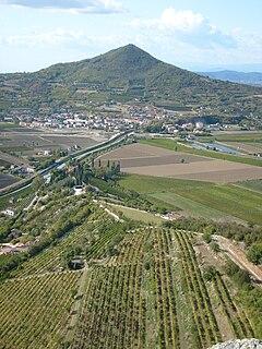 Monte Lozzo mountain in Italy