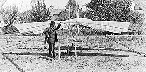 Raynold E. Acre - Lougheed and Acre modified a Montgomery tandem-wing aircraft similar to the The Santa Clara glider shown here