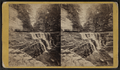 Monument Rock and cascade, Buttermilk Ravine, Ithaca, N.Y, by E. & H.T. Anthony (Firm).png