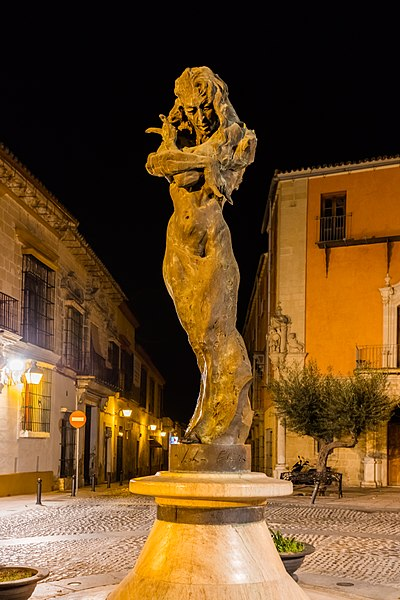 Fasciculus monumento a lola flores calle ram n de cala for Calle prado jerez madrid