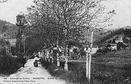 Morette at the start of the 20th century