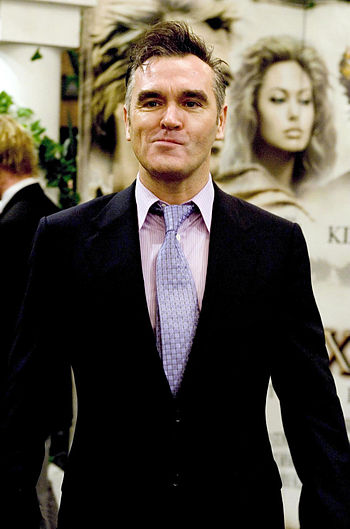 Morrissey at the premiere of the Alexander fil...