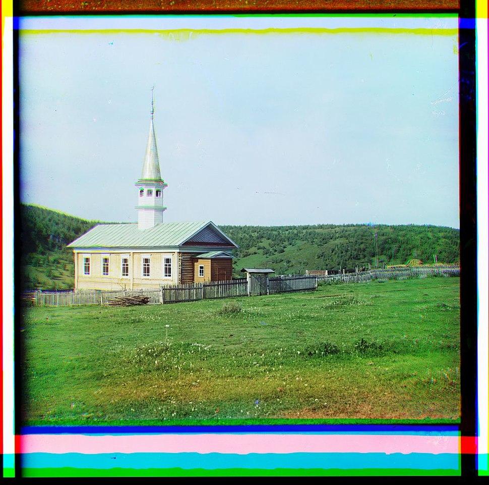 Mosque in the Bashkir village Yakhino (1910)