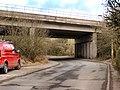 Motorway Bridge, Bentley Lane - geograph.org.uk - 1752019.jpg
