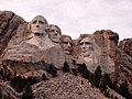 Mount Rushmore from close up and from Needles Highway.jpg