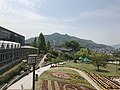 Mount Ryuozan from observation deck in Innoshima Flower Center.jpg