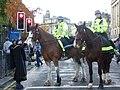 Mounted police in Princes Street, Edinburgh.jpg