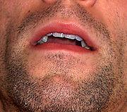 Male human mouth