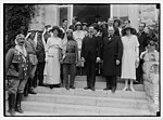 Mr. and Mrs. Winston Churchill at Government House reception on March 28, 1921, Jerusalem LOC matpc.04380.jpg