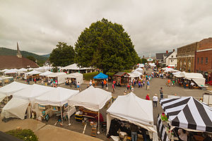 Burnsville, North Carolina - 2014 Crafts Fair