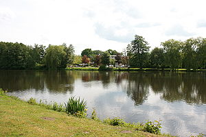 Munster, Lower Saxony - Millpond on the Örtze near the town centre