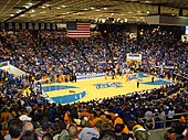 Murphy Center during a basketball game on November 21, 2008