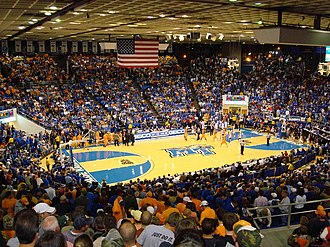 Middle Tennessee Blue Raiders - Murphy Center, home of the men's and women's basketball teams (November 2008)