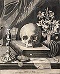 Musée des arts décoratifs - Memento mori - Johann Elias Ridinger - Collection de la Baronne Henri de Rothschild Inv.25796.jpg