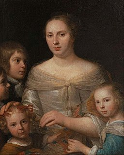 Mytens Mother with children