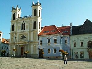 Nám.SNP R.k.-kostol sv.FrantiškaXaverského