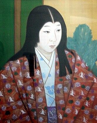 Nōhime - Portrait of Nō in Gifu Castle