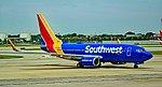 N438WN Southwest Airlines Boeing 737-7H4 s n 29833 (43773098951).jpg