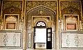 NAHARGARH INTERIOR WALL WITH GOLDEN ART (NARESH KUMAR).jpg
