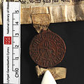 NLW Penrice and Margam Deeds 2042 (seal 1) front (8634682240).jpg