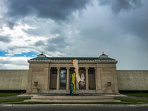 New Orleans Museum of Art - Image: NOMA Front Facade