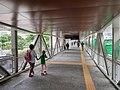 NS1 EW24 Jurong East MRT temporary linkbridge to temporary interchange 20210622 182601.jpg