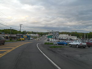 New York State Route 23A - Eastern terminus of NY 23A at US 9W in Catskill