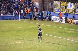 Orion jugando para Boca durante el partido de ida contra Nacional de  Uruguay por Copa Libertadores 2016. fa4d90b745f