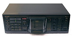 Nakamichi - Nakamichi RX-505 audio cassette deck with UDAR.