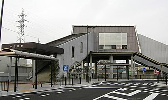 Nakanosakae Station - Nakanosakae Station, June 2010