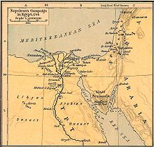 French Campaign In Egypt And Syria Wikipedia - Map of egypt and syria