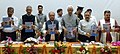 Narendra Singh Tomar announcing ten new Iconic places to be taken under the Phase II of Swachh Iconic Places initiative, under Swachh Bharat Mission, at Mata Vaishno Devi Shrine, in Katra, Jammu and Kashmir.jpg