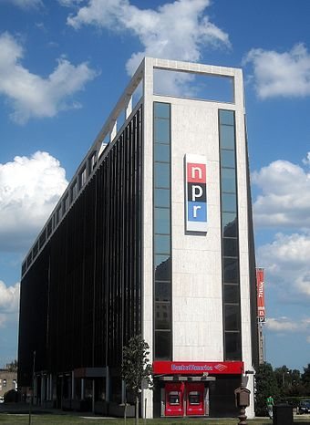 NPR's former headquarters at 635 Massachusetts Avenue NW in Washington, D.C. (demolished in 2013) National Public Radio headquarters.jpg