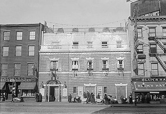 Neighborhood Playhouse School of the Theatre - The Grand Street building in 1916
