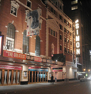Neil Simon Theatre Broadway theatre in New York City