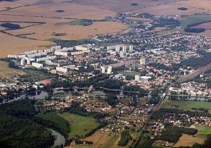 Neratovice - Aerial view